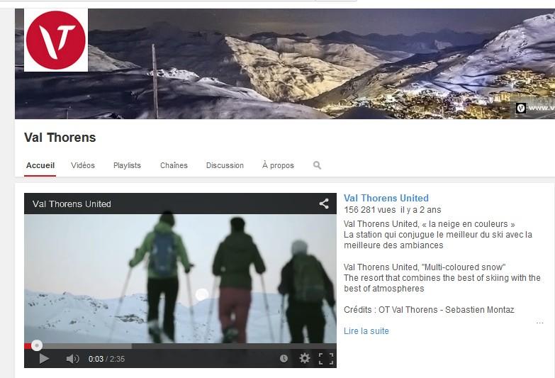 Val Thorens : une chaîne Youtube pour ne rien rater